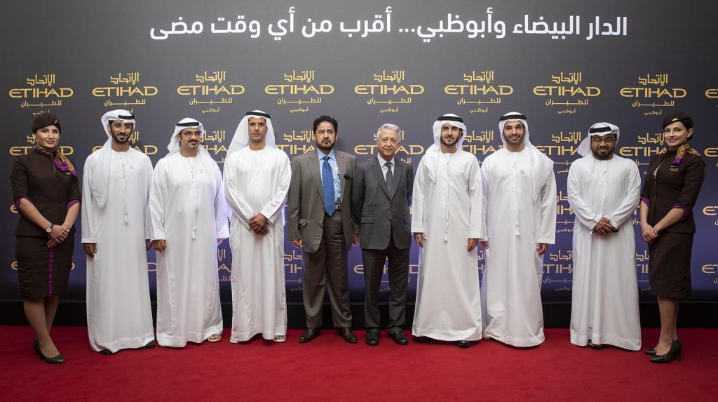 Etihad Airways met un dreamliner quotidien entre Casa et Abu Dhabi