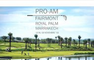 1ère édition du Pro-Am Fairmont Royal Palm Marrakech