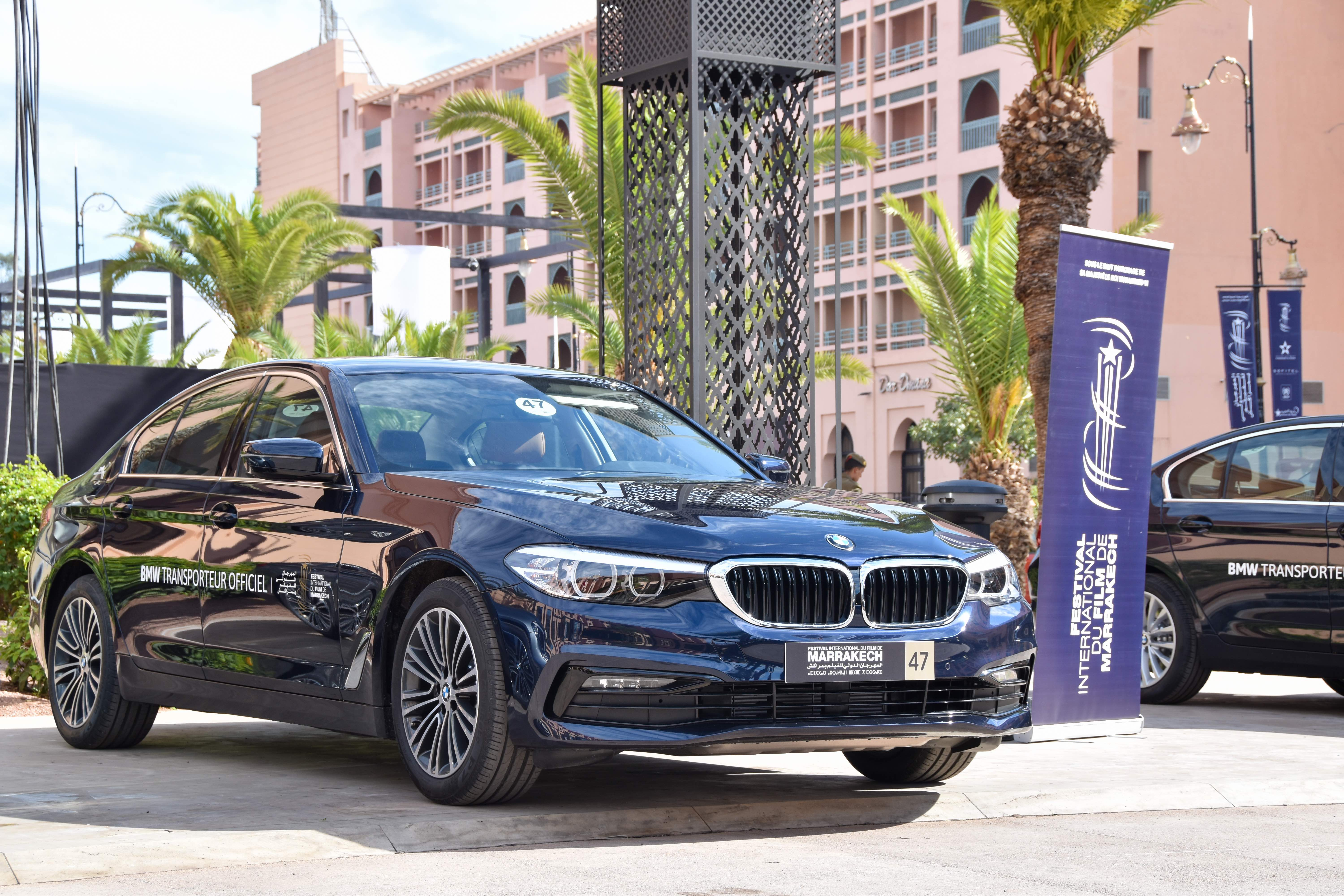 BMW transporteur officiel des stars du FIFM