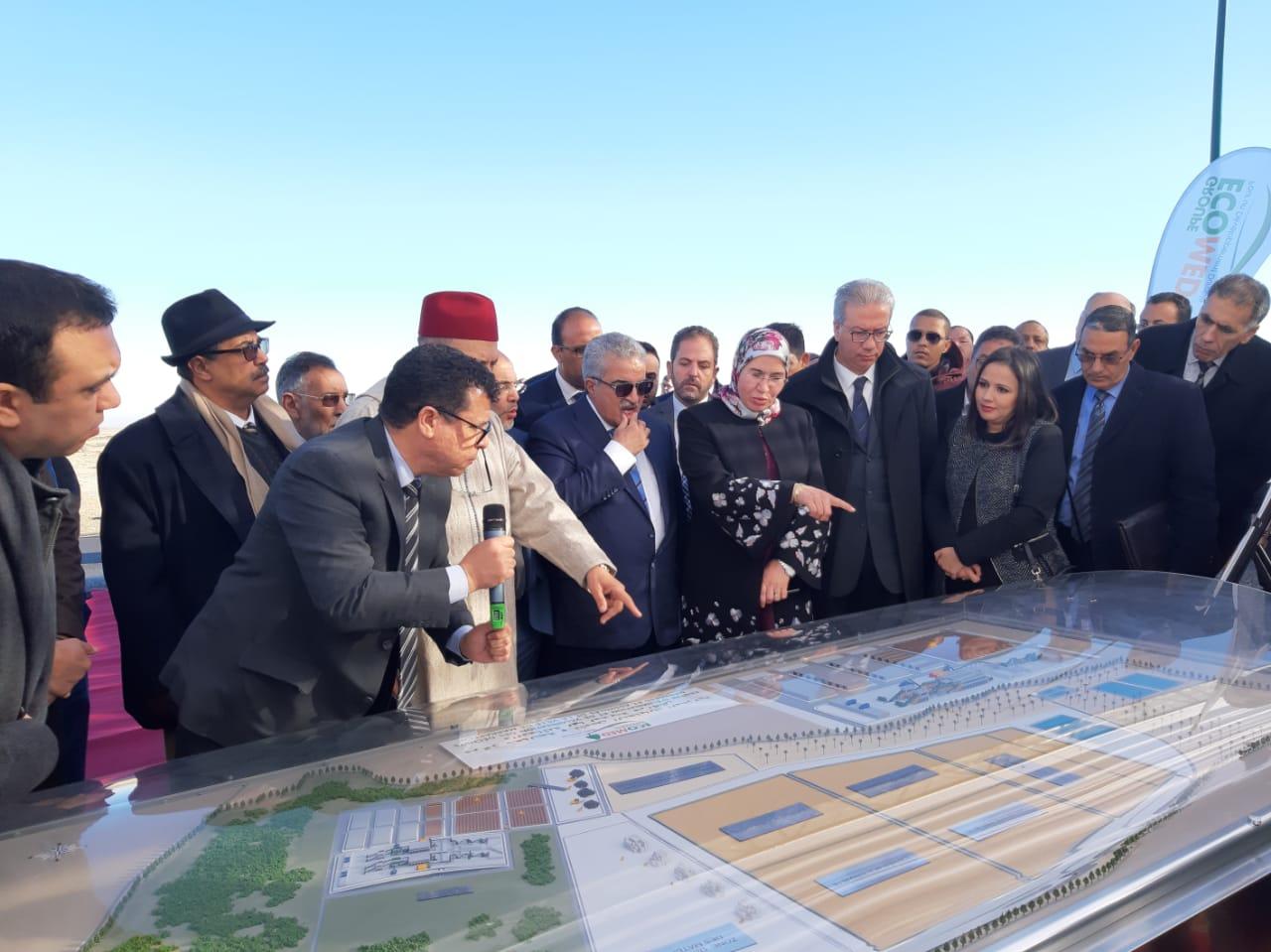 Inauguration officielle du Centre d'Enfouissement et de Valorisation des déchets de Marrakech