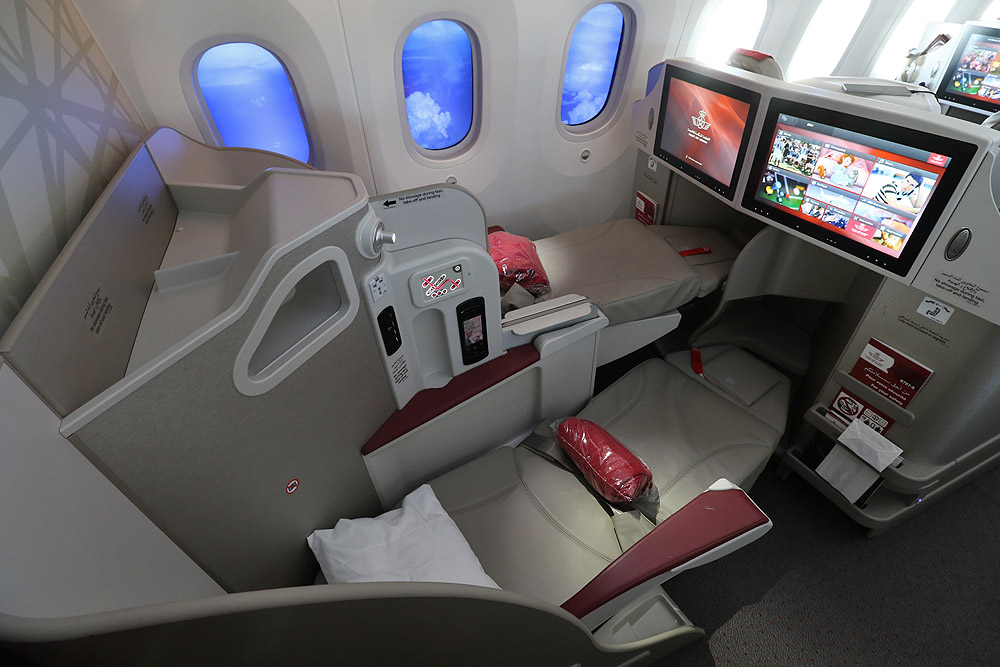 Nouveau programme qualité business class à bord des vols RAM