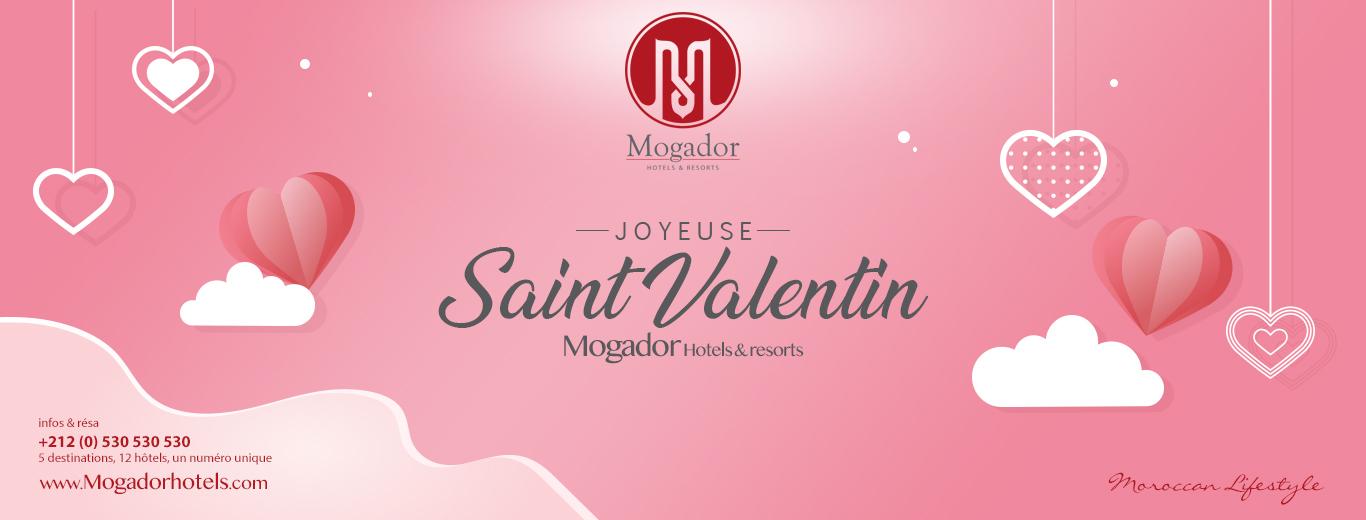 La St Valentin chez Mogador Hotels