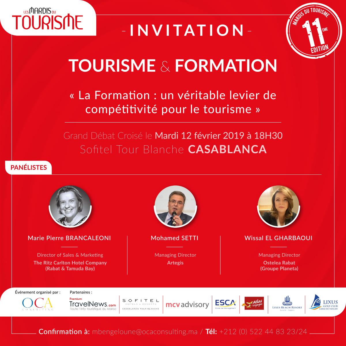 Les Mardis du Tourisme #11: Tourisme & Formation
