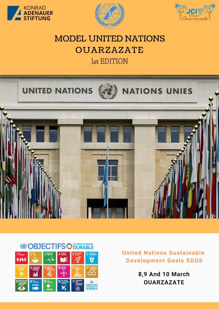 1ère édition du Model United Nations de Ouarzazate