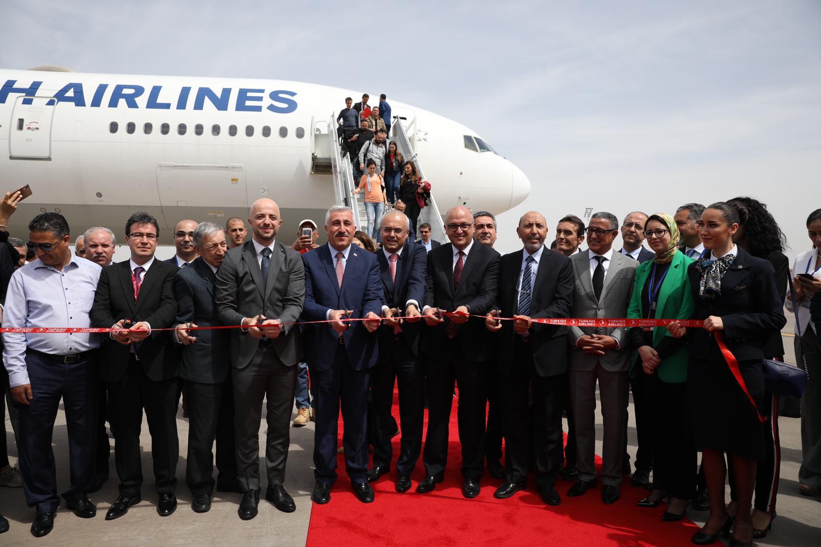 5 vols hebdomadaires de Turkish Airlines sur Marrakech