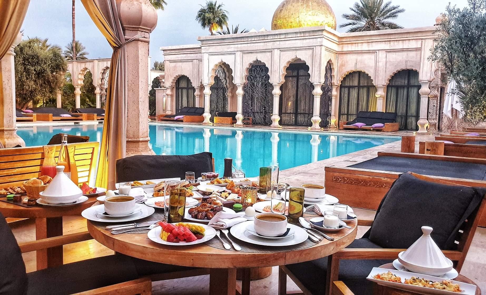 Des ftours féeriques aux plus beaux hôtels de Marrakech