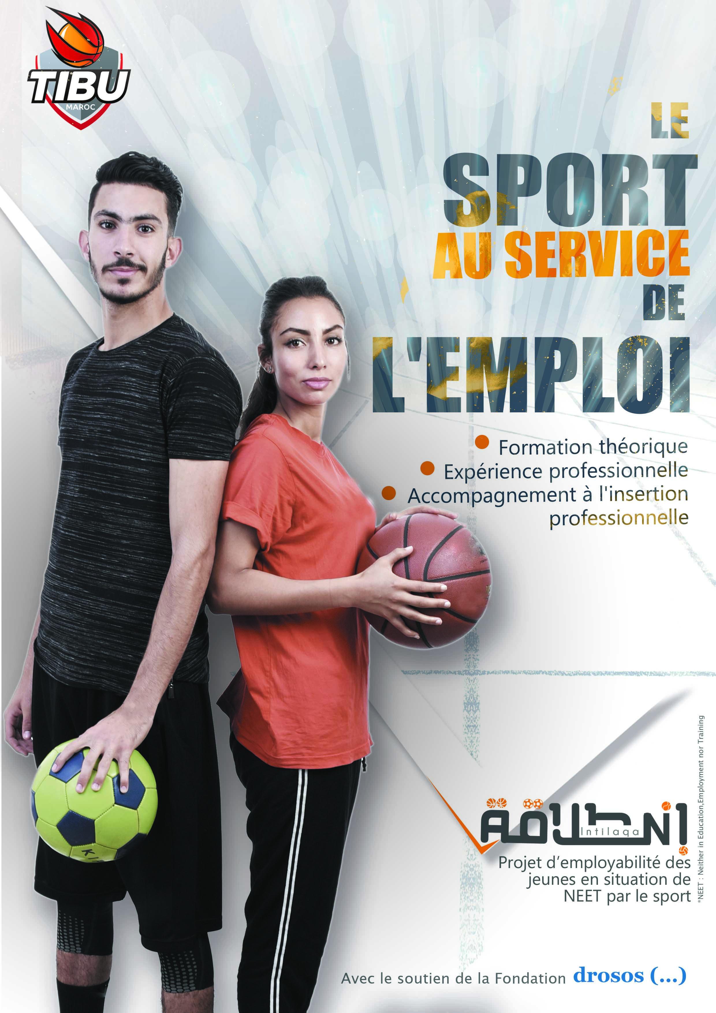 1erprogramme Tibu en Afrique d'employabilité des jeunes par le sport