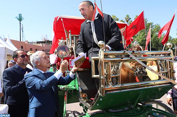 20èmeconcours de la calèche à Marrakech, entre tourisme et écologie