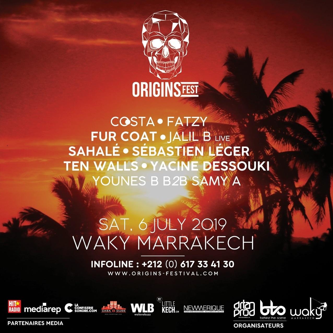 2èmeédition d'Origins Festival Marrakech (6-7 juillet)
