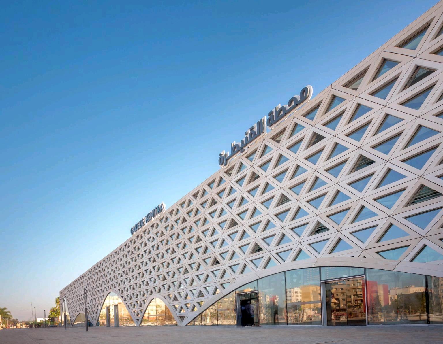 La gare LGV Kénitra primée par Prix mondial de l'architecture et du design