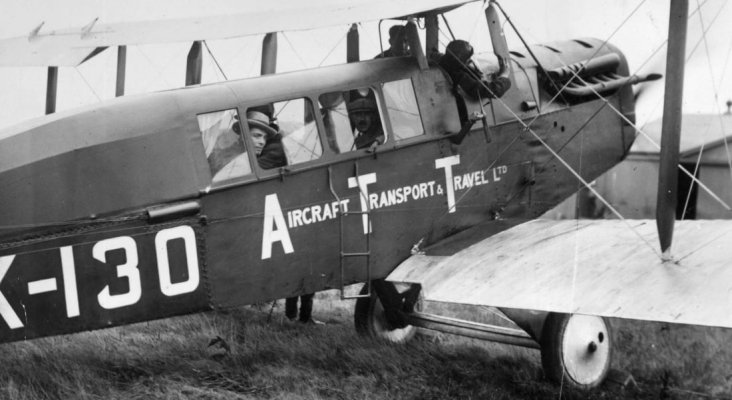 L'aviation commerciale fête ses 100 ans