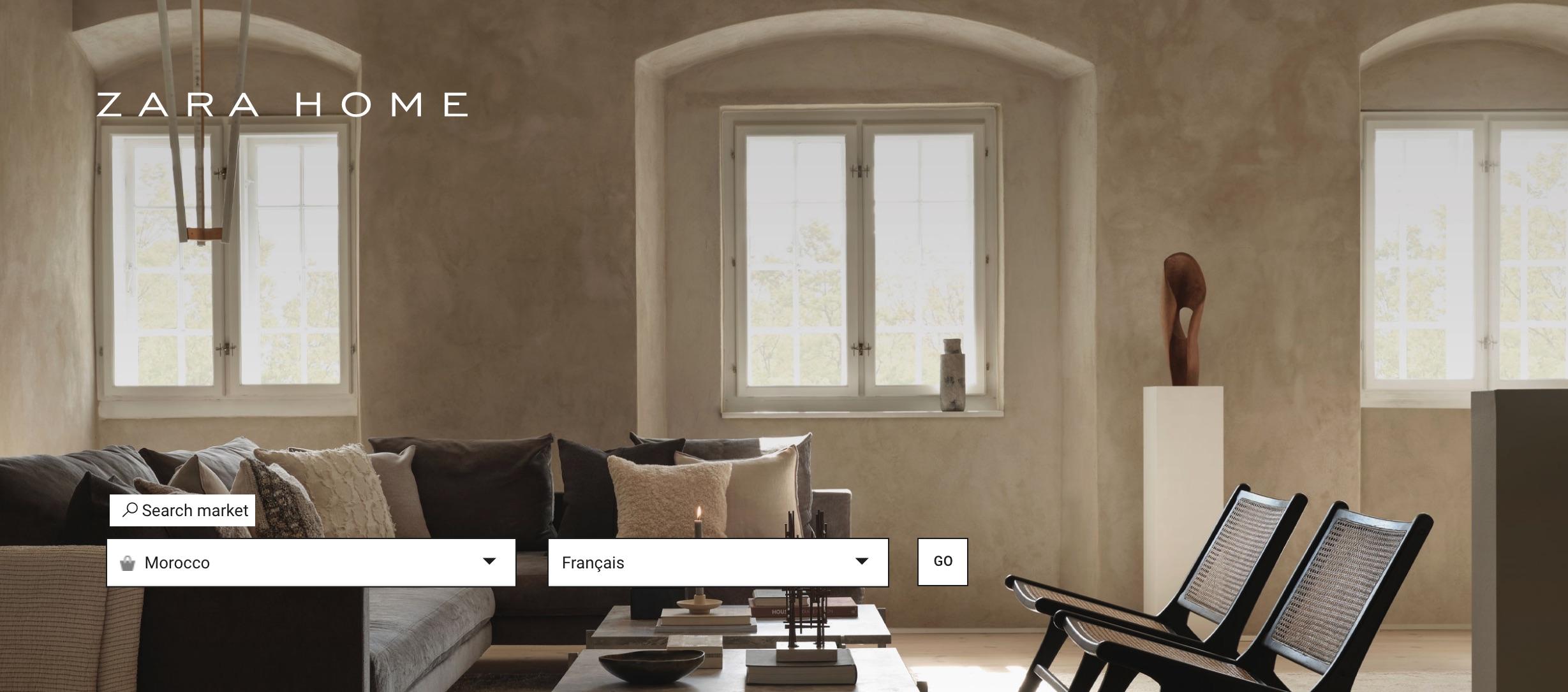 Shopping: Ventes Zara Home on line