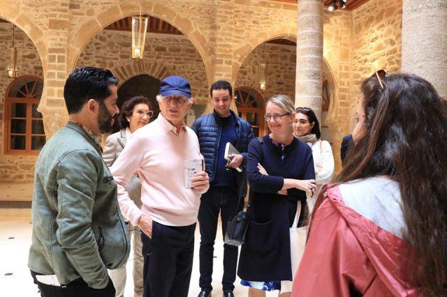 Visite d'Essaouira avec deux personnalités...
