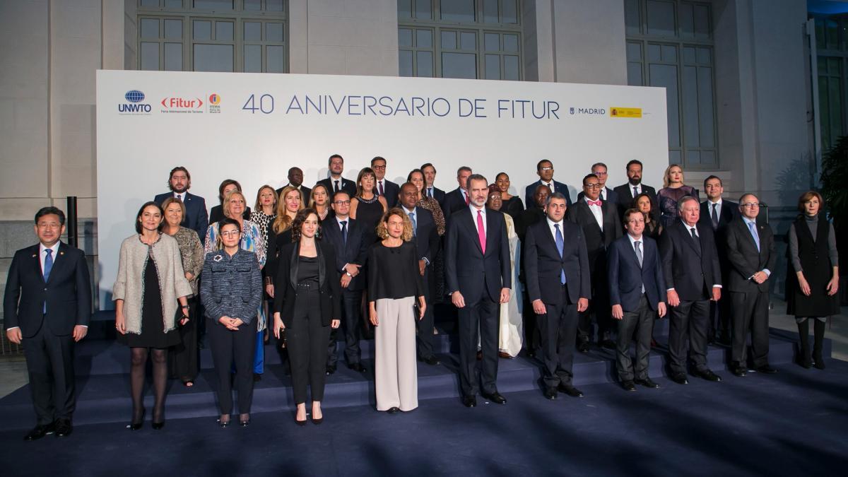 OMT : Le Roi d'Espagne au Fitur Madrid