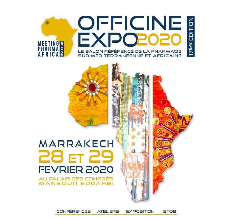 17e édition d'Officine Expo (Marrakech 28-29 février 2020)