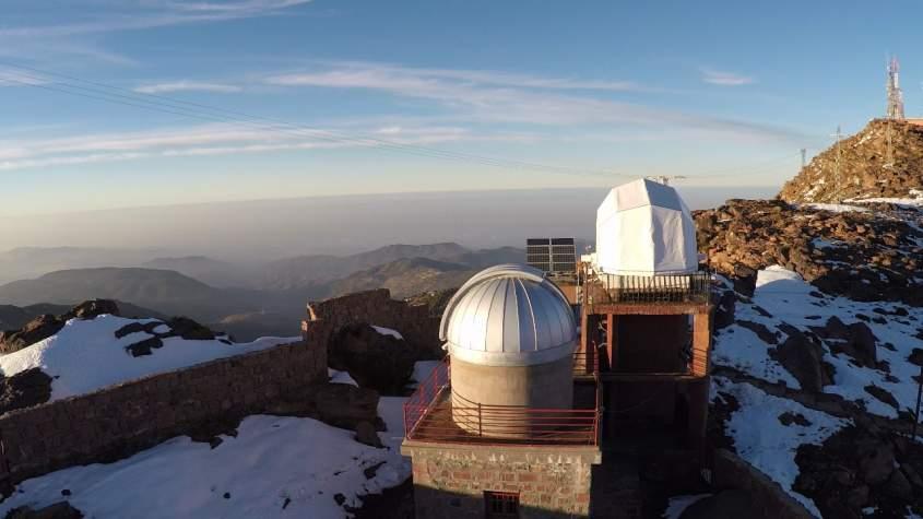 Télescope grand public à Tiznit