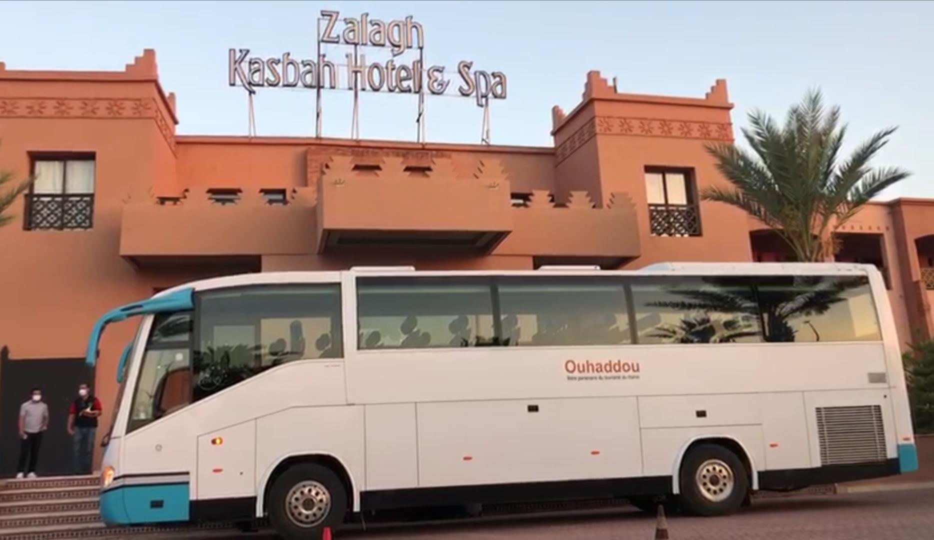 Les rapatriés marocains reçus en VIP au Zalagh Marrakech