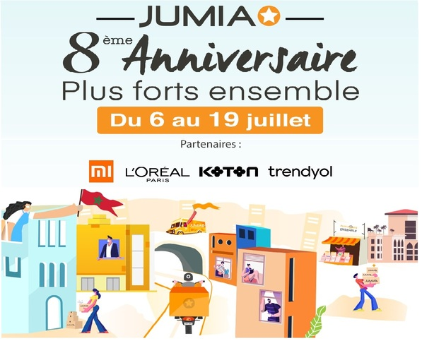 8ème anniversaire de Jumia sous le signe de la solidarité