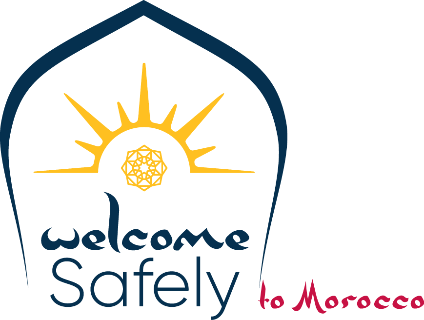 Welcome Safely Label