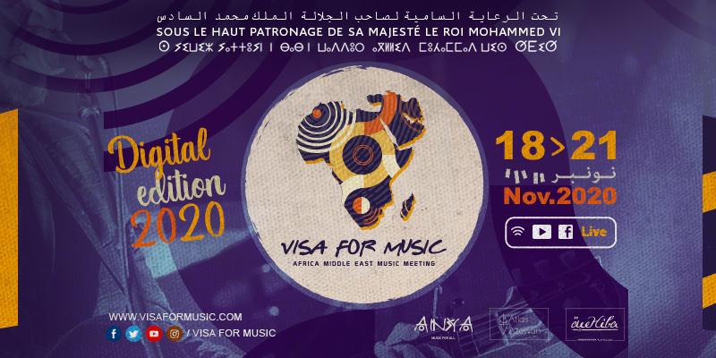 Nouvelle édition de Visa For Music (18-21 novembre)