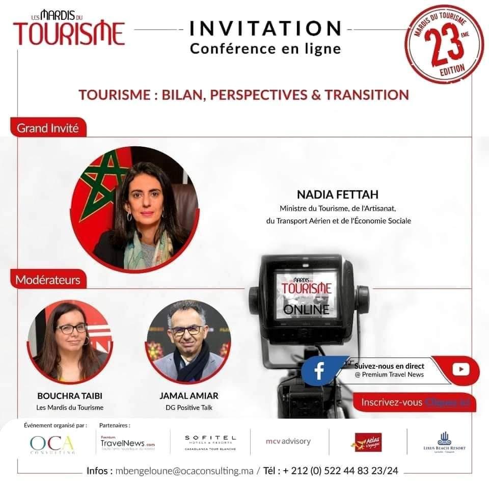 Mme Nadia Fettah invitée des MDT (23 Déc 2020 à 18h30)