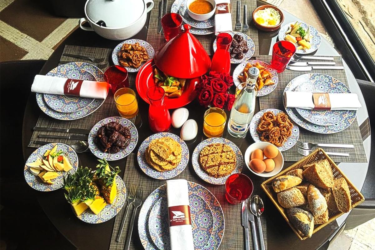 Nouvelle carte gastronomique à La Table du Marché Marrakech