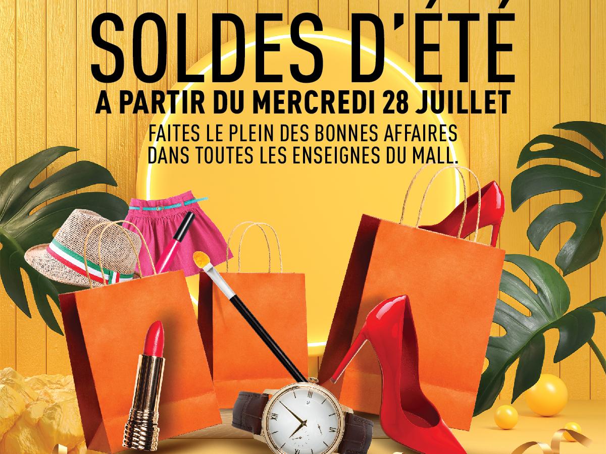 Soldes d'été au Morocco Mall