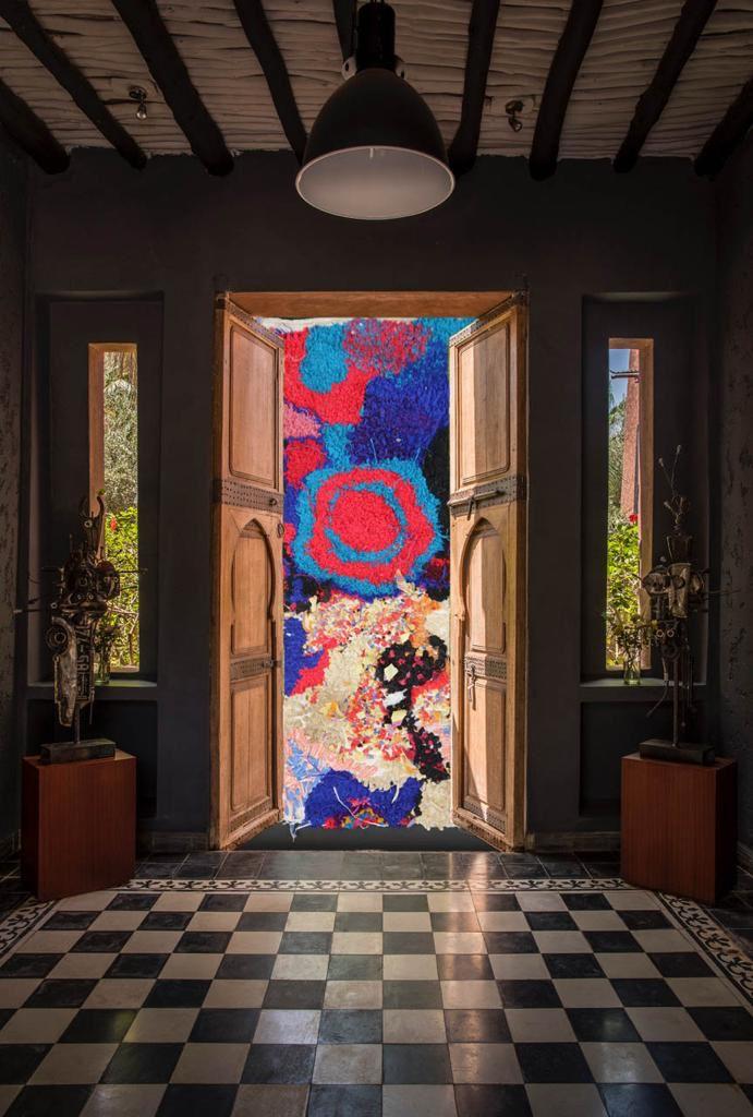 Nouvelle exposition de Lady Berbère à Marrakech