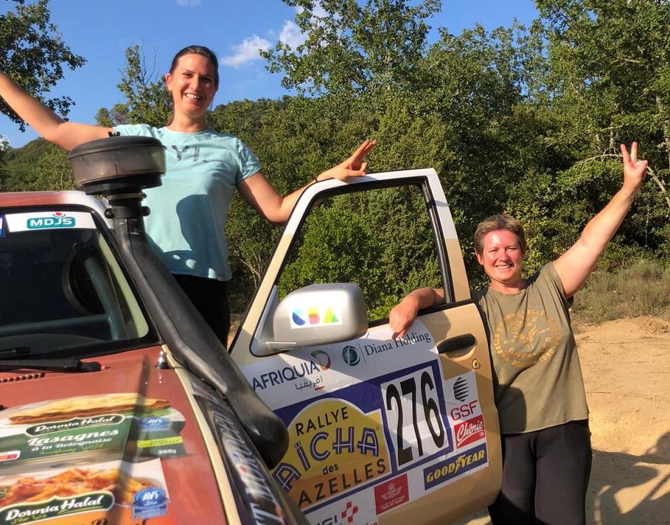 Pure Gazelle participe à la 30ème édition du rallye des Gazelles